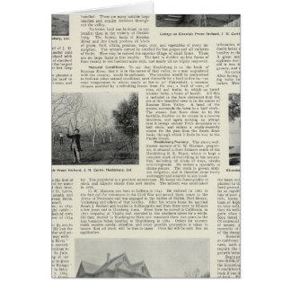 Riverdaleのプルーン果樹園、カリフォルニア カード