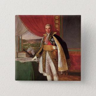 Rivoli 1814年の元帥のアンドレMassena公爵 5.1cm 正方形バッジ