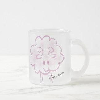 Riyah李は小さいLambchopを設計します フロストグラスマグカップ