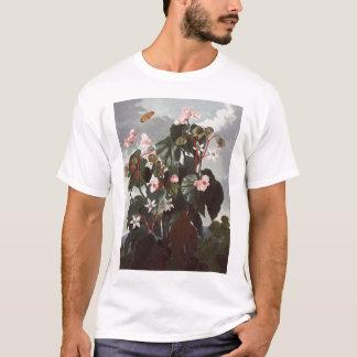 RJ Thornton -斜めleavedベゴニア Tシャツ