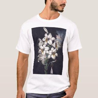 RJ Thornton -白いユリ Tシャツ
