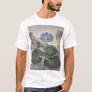 RJ Thornton -青いエジプト水ユリ Tシャツ