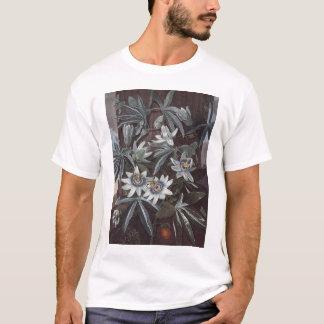 RJ Thornton -青い情熱花 Tシャツ