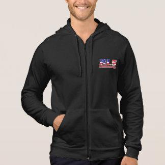 RLSの企業のワシの袖なしのフード付きスウェットシャツ パーカ