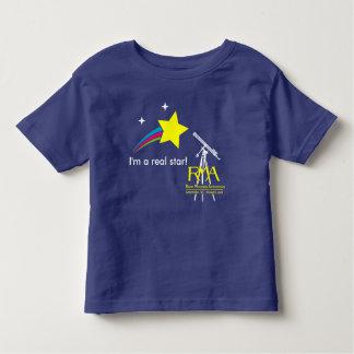RMAのロゴの天文学の幼児のTシャツ トドラーTシャツ