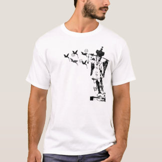 RMSのための大天使のミハエルTシャツのデザイン Tシャツ