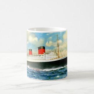 RMSのエリザベス女王 コーヒーマグカップ