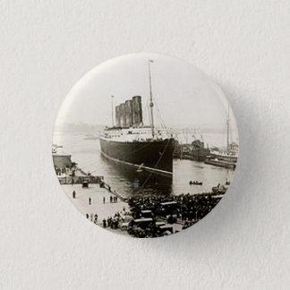 RMSのルシタニア 3.2CM 丸型バッジ