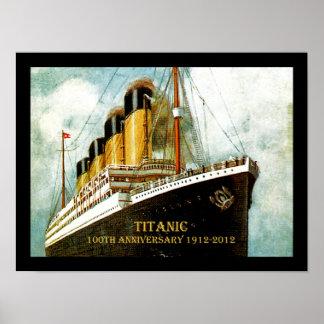 RMSの巨大な100th記念日 ポスター