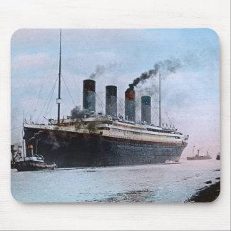 RMS巨大なベルファストアイルランドのヴィンテージ マウスパッド