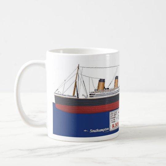 RMS Titanic コーヒーマグカップ