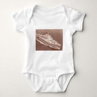 RMS Windsorの城、連合城ライン ベビーボディスーツ