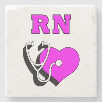 RNのナースの心配 ストーンコースター