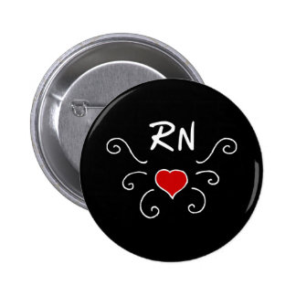 RNのナース愛入れ墨 5.7CM 丸型バッジ