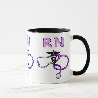 RNの聴診器 マグカップ