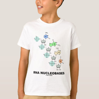 RNA Nucleobases (生物化学) Tシャツ