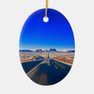 Road to Monument Valley Christmas Ornament セラミックオーナメント