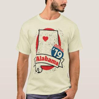 Roadtripアラバマ「19のTシャツ(白い) Tシャツ