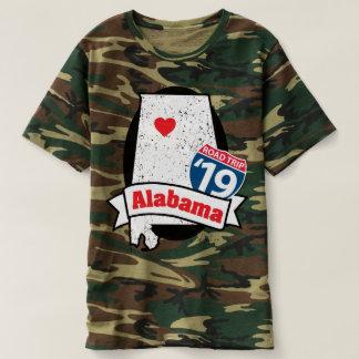 Roadtripアラバマ「19のTシャツ(迷彩柄) Tシャツ