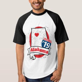 Roadtripアラバマ「19のTシャツ(ragland) Tシャツ