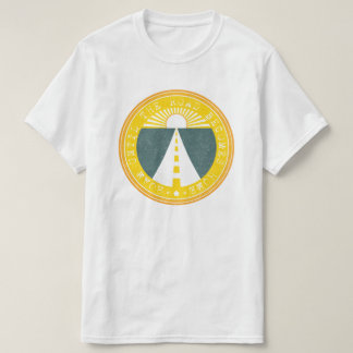 roam until the road becomes home tシャツ