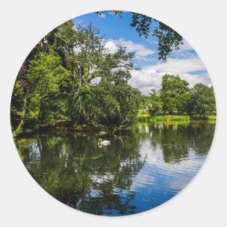 Roath park湖 ラウンドシール
