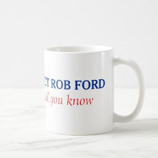 Robフォードの再選のマグ コーヒーマグカップ
