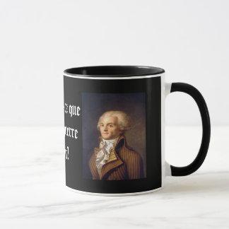 Robespierre (フランスのなキャプション) マグカップ