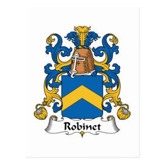 Robinetの家紋 ポストカード