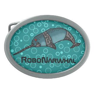 RoboNarwhal 卵形バックル