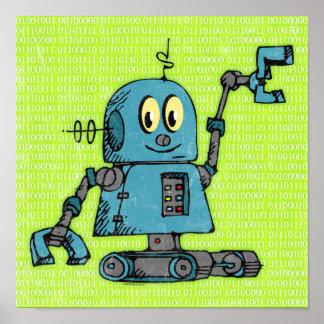 Robot Poster氏 ポスター