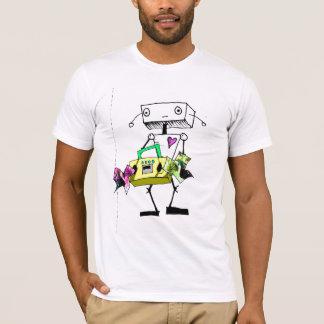 RobotLove Boombox Tシャツ