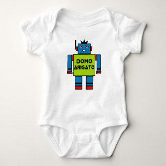 Roboto Baby Bodysuit Domo Arigatoの氏 ベビーボディスーツ