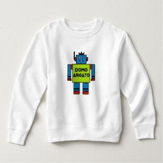 Roboto Toddler Fleece Sweatshirt Domo Arigatoの氏 スウェットシャツ
