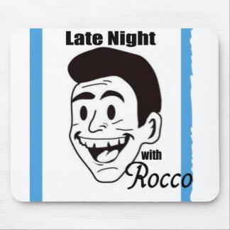 Roccoショーのスワッグと夜遅く マウスパッド