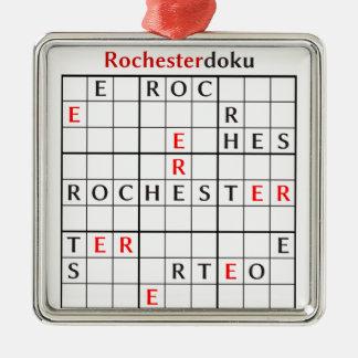 rochesterdoku メタルオーナメント