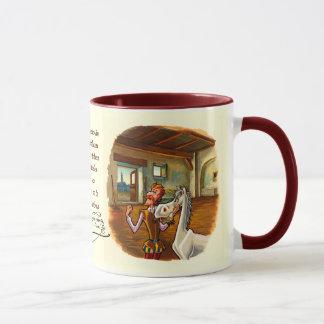 Rocinanteに捧げられる、ドン・キホーテ馬 マグカップ