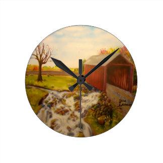 Rock Creekの道 壁時計