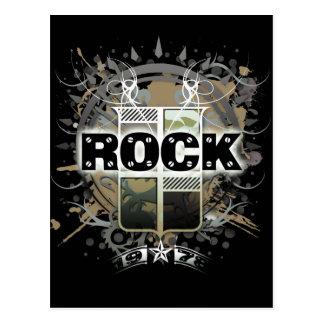 Rock=Lifeの「ヴィンテージの石」の郵便はがき ポストカード