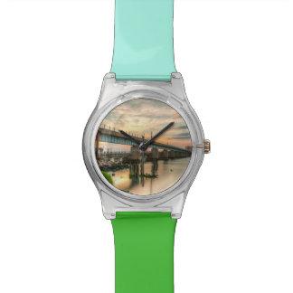 Rockawayの列車橋 腕時計
