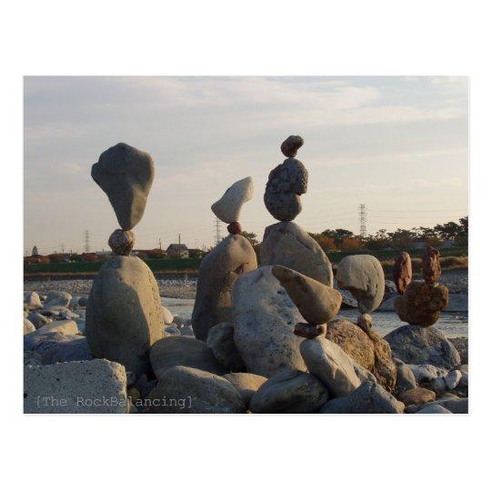 RockBalancing in TAMAGAWA ポストカード