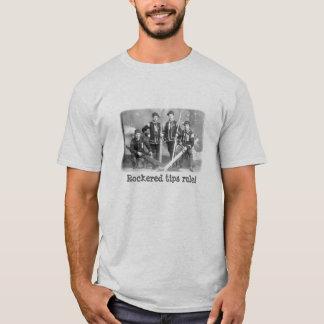 Rockeredは規則をひっくり返します! Tシャツ