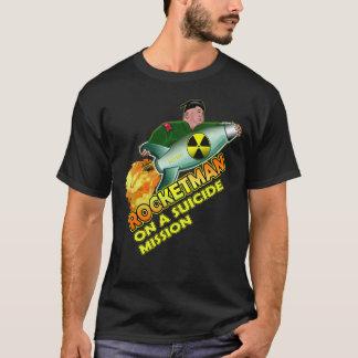 Rocket man Funny Kim Jong Un Trump Quote T-shirt Tシャツ