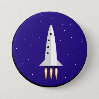 Rocket Science 7.6cm 丸型バッジ