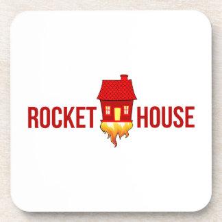 RocketHouseのロゴT コースター