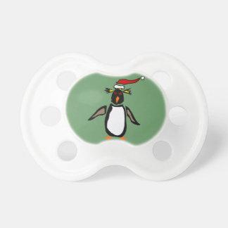 Rockhopperのペンギンのクリスマスの芸術 おしゃぶり