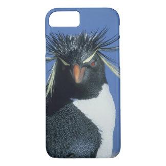 Rockhopperのペンギン(Eudyptesのchrysocome) iPhone 8/7ケース