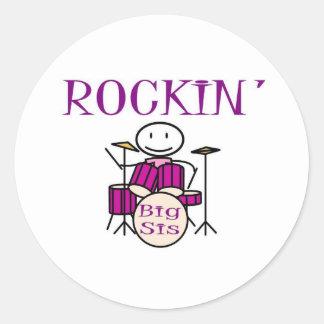 rockin大きいsis ラウンドシール