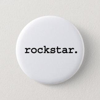 rockstar. 5.7cm 丸型バッジ