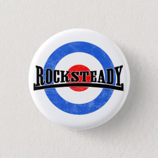 Rocksteadyモダンなボタン 缶バッジ